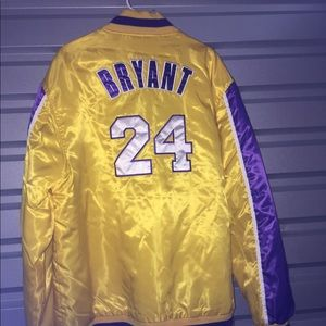 Kobe Bryant 24 Laker Starter Jacket